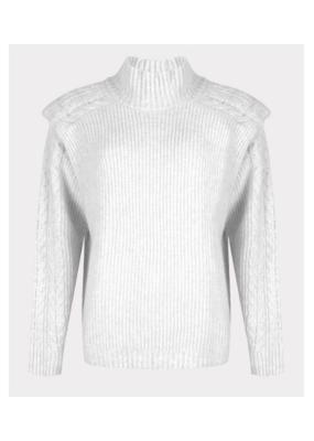 ESQUALO Sweater in Off-White by ESQUALO