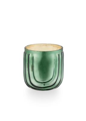 Illume Balsam & Cedar Pressed Glass Candle