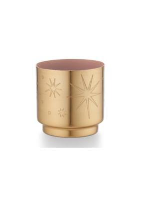 Illume Pink Pine Tiny Tinsel Candle