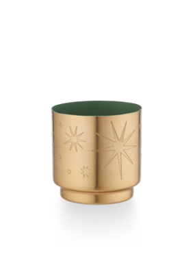 Illume Balsam & Cedar Tiny Tinsel Candle