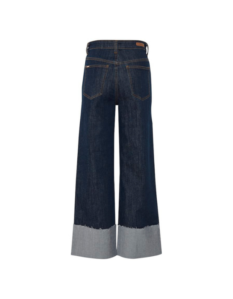 b.young Kato Kelsa Jeans in Dark Blue Denim by b.young