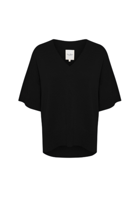 Part Two Kinnie Top in Black by Part Two