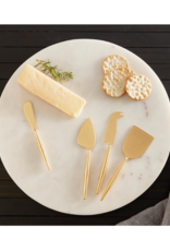 creative brands Matte Gold Cheese Set
