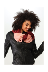 Fraas Ombre Plisse Scarf Berry