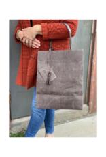 Brave Brown Bag Market Sac Maxi in Herringbone by Brave Brown Bag