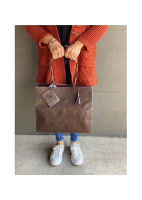 Brave Brown Bag Shopper Marche Bag in Coffee by Brave Brown Bag