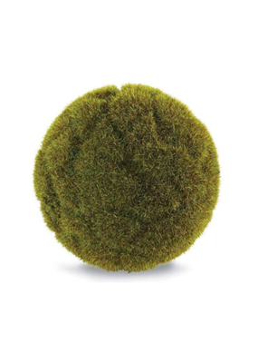 """4"""" Faux Forest Moss Ball"""