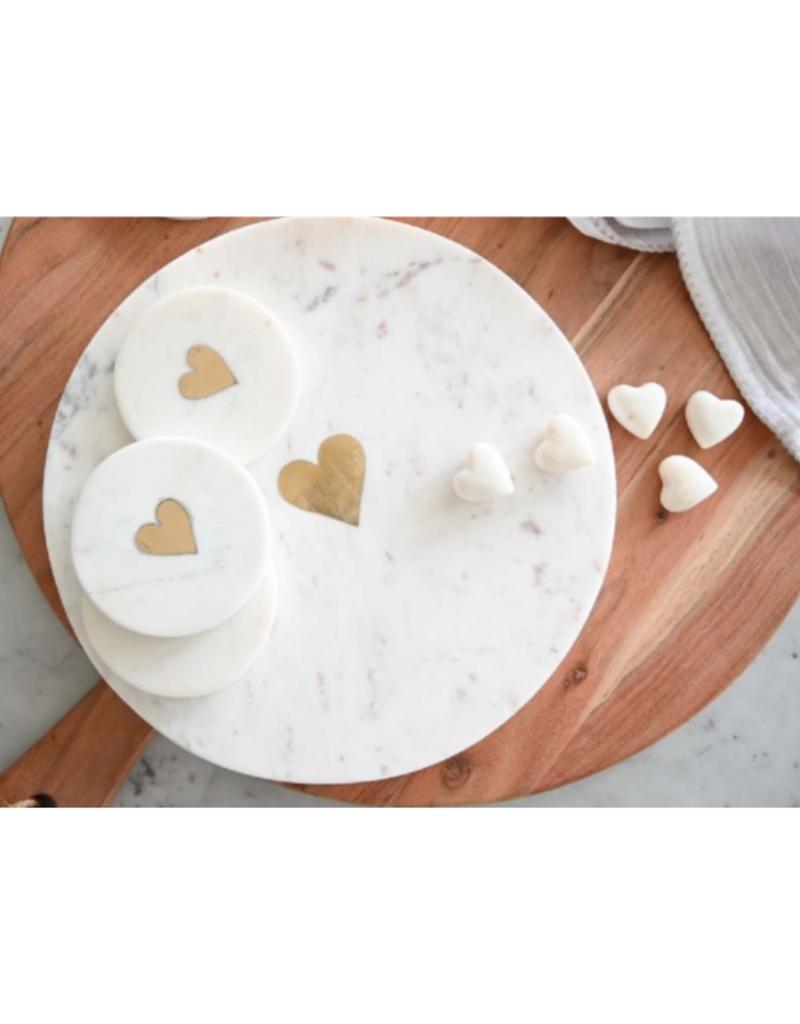 Indaba Trading Sweet Heart Marble Board