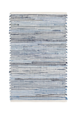Dash & Albert Dash & Albert Denim Rag Ribbed Cotton Rug
