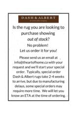 Dash & Albert Dash & Albert Denim Rag Diamond Indigo Cotton