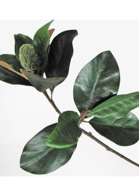 """Faux Magnolia Pick Green 35"""""""