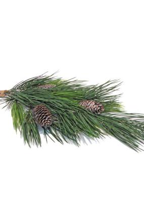 """Faux Needle Pine Cones 26"""""""