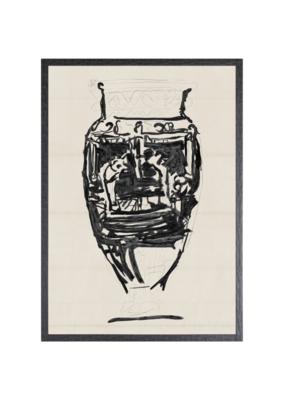 Cheret Vase Art Print I