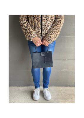 Brave Brown Bag Mini Bag in Ebony by Brave Brown Bag