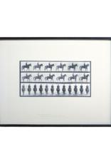 Horse & Rider Art Print I