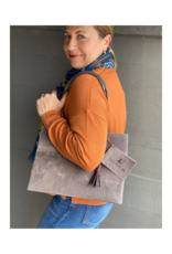 Brave Brown Bag Shopper Madi in Herringbone by Brave Brown Bag