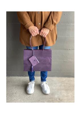 Brave Brown Bag Shopper Madi in Plum by Brave Brown Bag