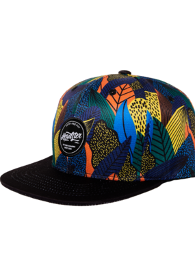 HEADSTER Fine Foliage Indigo Hat by Headster