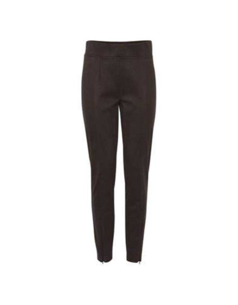 b.young  Regiza Slit Leggings in Java by b.young