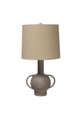 Bloomingville Terracotta Table Lamp Matte Grey