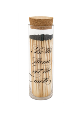 Skeem Fireplace Matches in Calligraphy