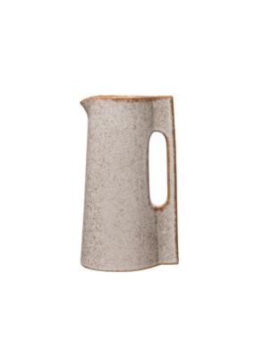 Sienna Stoneware Glazed Pitcher