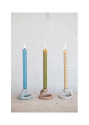 Matte Glaze Ceramic Taper Candle Holder