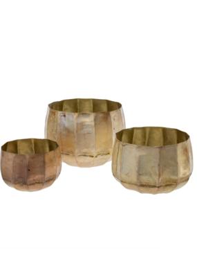Indaba Trading Cobblestone Pot in Champaign and Blush