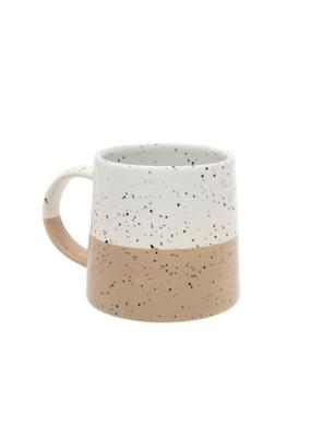 Indaba Trading Aster White Mug