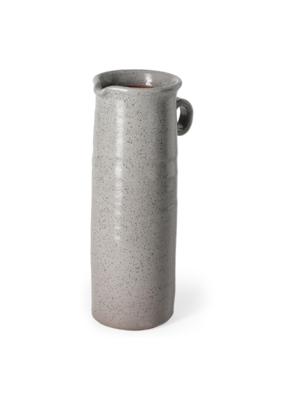 Frieda Freckled Gray Ceramic Jug Large