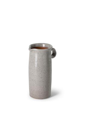 Frieda Freckled Gray Ceramic Jug Small