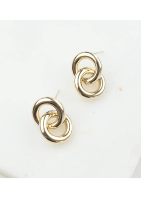 Lover's Tempo Earring Links in Gold by Lover's Tempo
