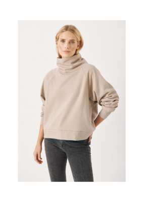 Part Two Luka Sweater in Simply Taupe by Part Two