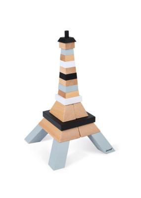 Janod Eiffel Tower Building Kit