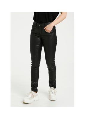 Cream Annelene Pants in Pitch Black by Cream