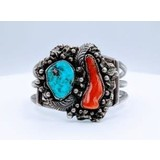 Bracelet MHS Turquoise Sterling Mens