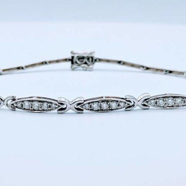 """Bracelet Diamond .75ctw 14k 8.5"""" 418110045"""