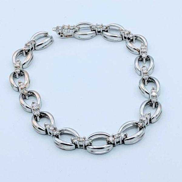 """Bracelet Diamond 1.0ctw 14k 6.75"""" 418110048"""