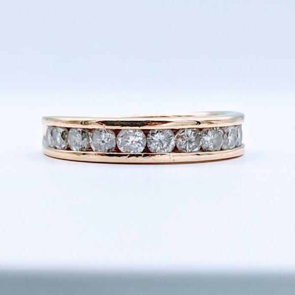 Ring Diamond Channel 1.0ctw 10k Sz 6 418110126