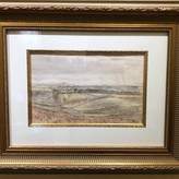 "Art Geoffrey Rhoades ""View Over The Fields"" 1933 218120036"