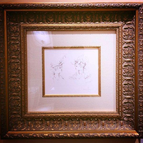"Art Leonor Fini ""Tetes de Profil"" 1972 218120037"
