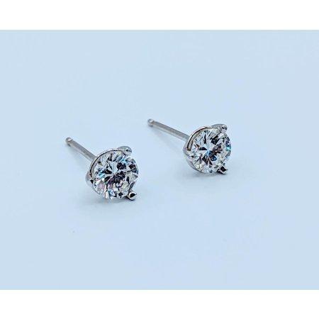 Earrings .44ctw 14kw Martini Studs 418110151