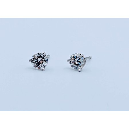Earrings .42ctw 14kw Martini Studs 418110149