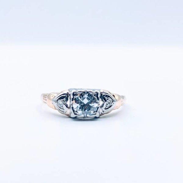 Ring European .35ct 14ky Sz6 419010254