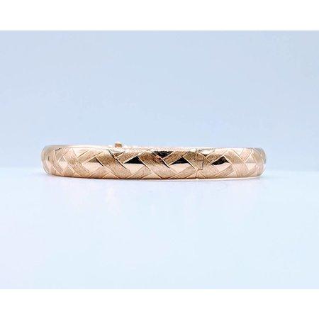 Bracelet Weave Bangle 14ky 419010220