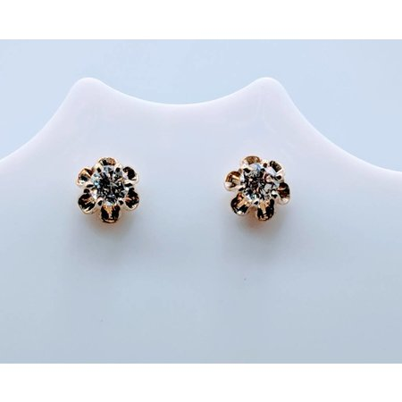 Earrings Stud .40ctw Diamond 14ky 419020323
