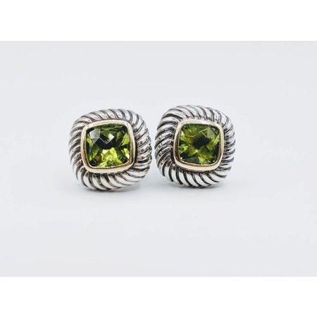 Earrings D.Y. Peridot Sterling 419020315