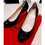 Christian Louboutin Simple Pump Patent Leather 85mm 8B/38 Euro
