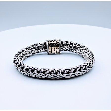 """Bracelet John Hardy SS/18k 7.5"""" 219040002"""