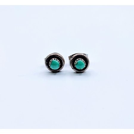 Earrings Native American Turquoise Studs SS 219050048